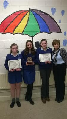 Victory in Regional Final of Irish Junior Maths Quiz