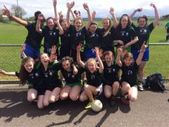 First Year Students Participate in Football Blitz