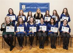 Twenty First Annual Awards Night at Ard Scoil na nDéise