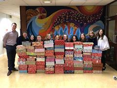Shoebox Collection for Team Hope Christmas Shoebox Appeal