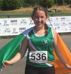 Ard Scoil na n Déise Student to Represent Ireland at the IWAS World Games in the United Arab Emirates.
