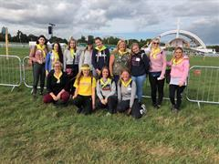 Ard Scoil Students and Teachers Volunteer at the Papal Mass