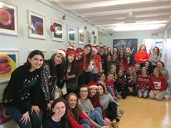 Christmas Jumper Day in the Ard Scoil