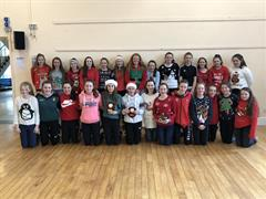 Ard Scoil na nDéise teams compete in First and Second Year Camogie Blitz