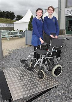 Ard Scoil na nDéise Students in the National Final of the Student Enterprise Programme