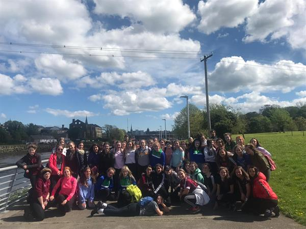 Transition Year Gaisce Trip to Newgrange