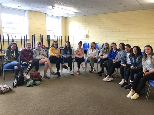 Student Leaders at Ard Scoil na nDéise