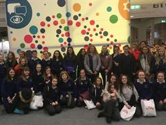 First Year Students Visit the Young Scientist Exhibition in Dublin