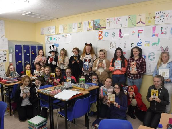 Ard Scoil na nDéise Celebrates World Book Day