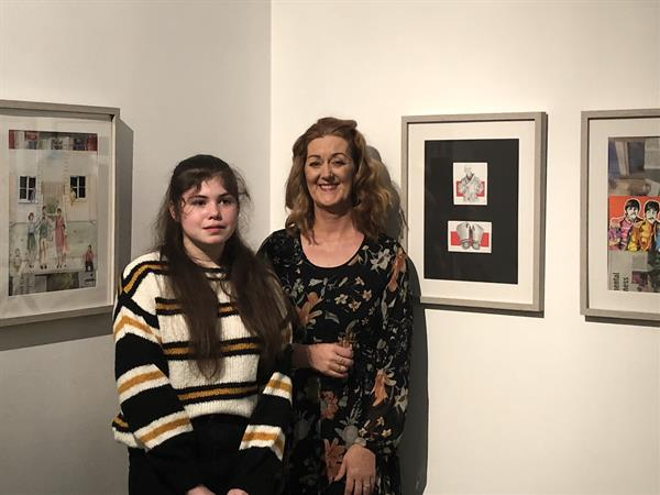 Transition Year Students exhibit their work at Lismore Castle