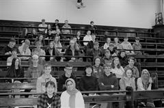 Ard Scoil na nDéise students attend a week of physics lectures in Trinity College Dublin