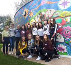 Fifth Year Mentors begin their training to be Cairde Girls to the incoming First Years