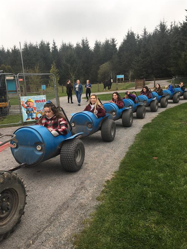 Transition Year trip to Leahy's open farm and chocolate factory