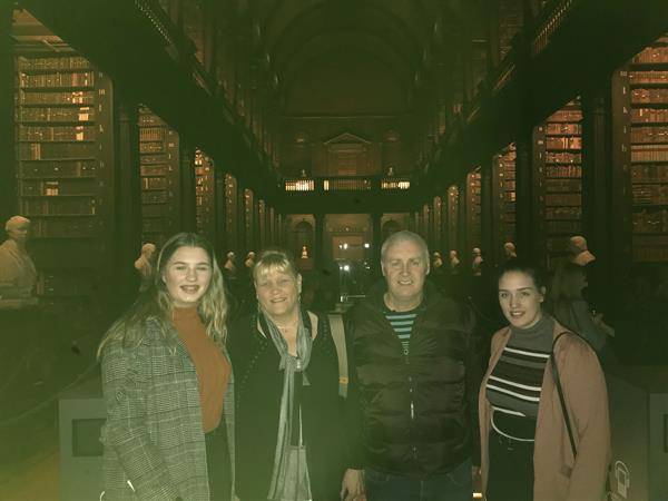 Ard Scoil na nDéise student wins essay writing competition in Trinity College Dublin