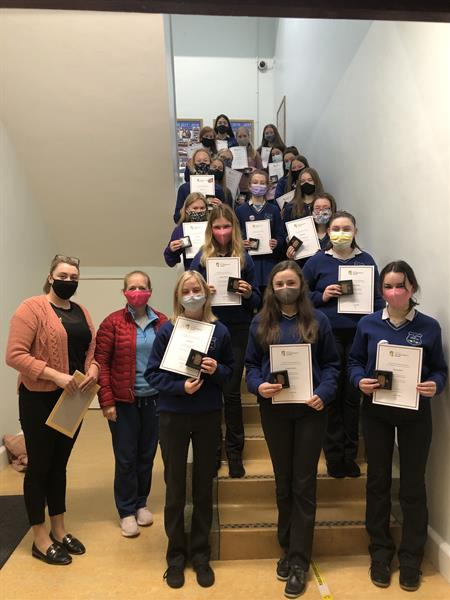 Congratulations to our Gaisce Recipients!
