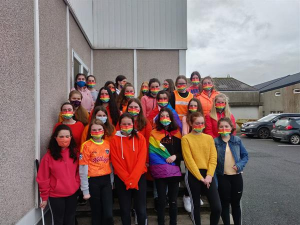 Stand Up Awareness Week in Ard Scoil na nDéise