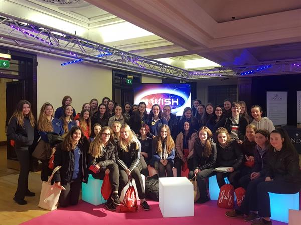 Transition Year Students at iWish Exhibition in Cork