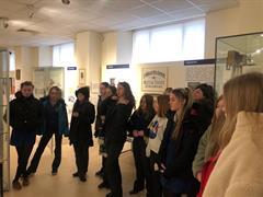 2B History Class Visit to Dungarvan Museum
