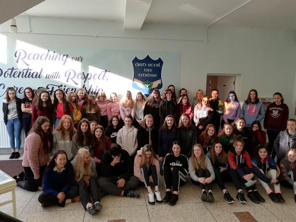 Another Jam Packed 'Minding Me Week' in Ard Scoil na nDéise!