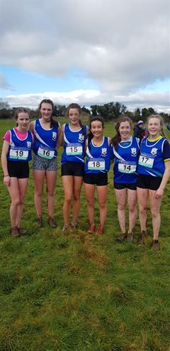 Lucy Holmes wins Senior Cross Country Championship for Ard Scoil na nDéise