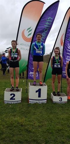Lucy Holmes is Senior All Ireland Cross Country Champion!