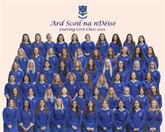 Congratulations to the Leaving Certificate and Junior Certificate Classes of 2021