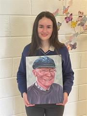 Success in the Texaco Children's Art Competition